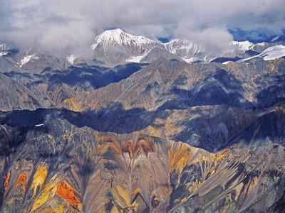 Wrangell Mountains (Aerial), Wrangell-St. Elias National Park, Alaska-Frans Lanting-Photographic Print