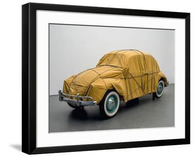 Wrapped Beetle, 1963/2014-Christo-Framed Art Print