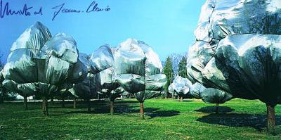 Wrapped Trees No. 11 - Signed-Christo-Collectable Print