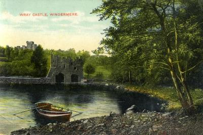 Wray Castle, Claife, Lancashire, Early 20th Century--Giclee Print