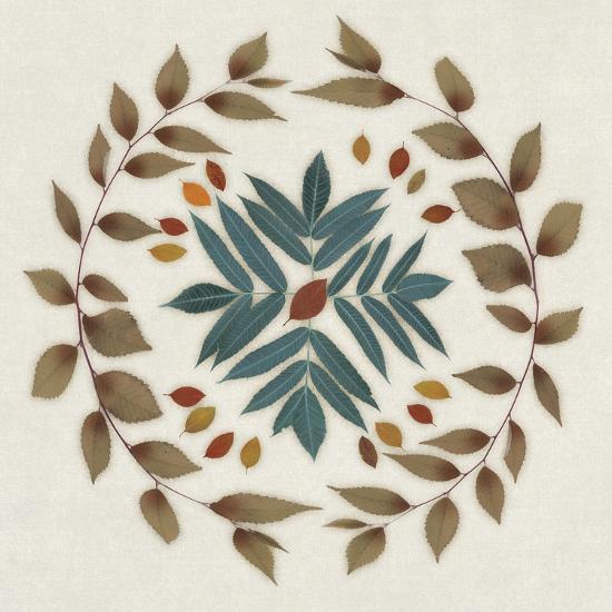 Wreath IV-Edward Selkirk-Art Print