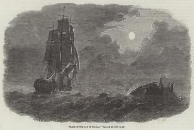 Wreck in the Bay of Bengal, Rescue of the Crew--Giclee Print