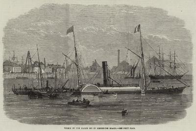 Wreck of the Baron Osy in Limehouse Beach--Giclee Print