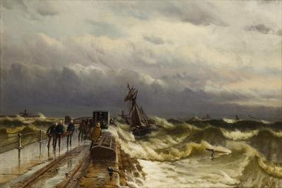 Wreck of the Barque 'Jacob Rothenberg', 28 November 1878, 1887-Duncan F. McLea-Giclee Print