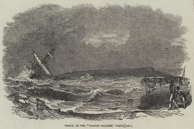 Wreck of the Francis Spaight, Table Bay--Giclee Print