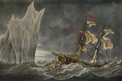 Wreck of the Lady Hobart, 1803, 1925--Giclee Print