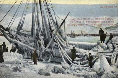 Wreck of the North Star, Novorossiysk, Russia, January 1907--Photographic Print