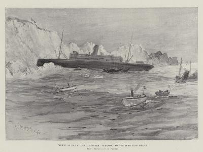 Wreck of the P and O Steamer Sobraon, on the Tung Ying Island-Henry Charles Seppings Wright-Giclee Print