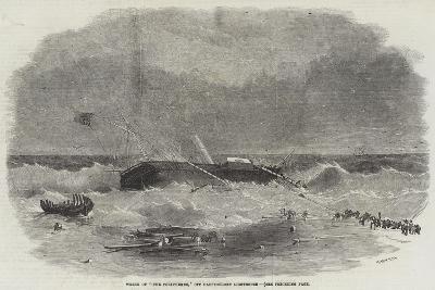 Wreck of The Polyphemus, Off Haustholmen Lighthouse--Giclee Print