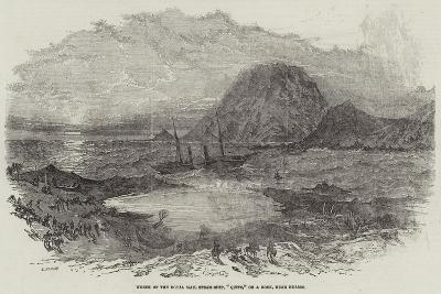Wreck of the Royal Mail Steam-Ship, Quito, on a Rock, Near Huasco--Giclee Print