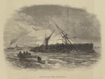 Wreck of the Spindrift-Walter William May-Giclee Print