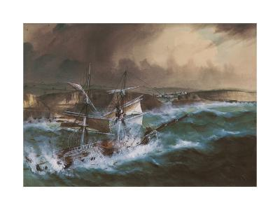 Wreck of the 'Star of Greece', C.1888--Giclee Print