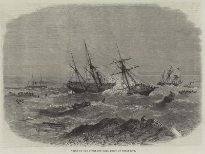 Wreck of the Steam-Ship Earl Percy at Tynemouth--Giclee Print