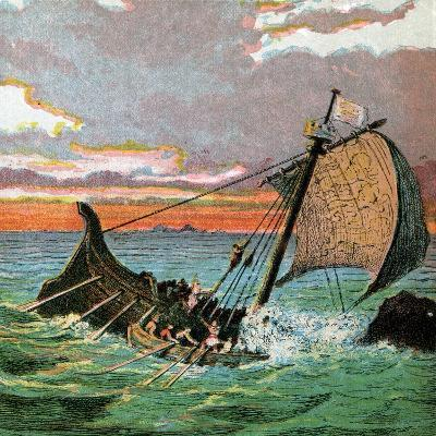 Wreck of the White Ship, 1120--Giclee Print