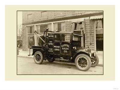 Wrecker Service Truck--Art Print