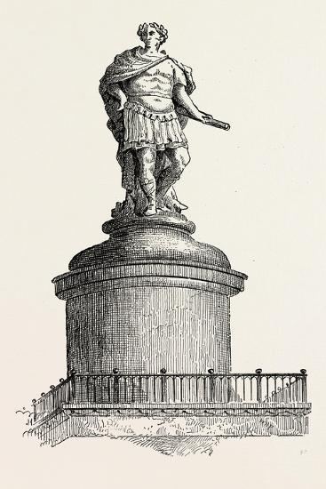 Wren's Original Design for the Summit of the Monument London--Giclee Print