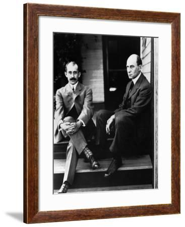 Wright Brothers--Framed Photographic Print