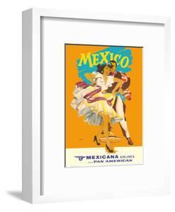 Mexico - Mexicana Airlines (CMA) - Affiliate of Pan American by Wright