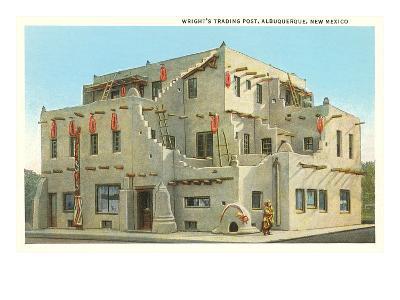 Wright's Trading Post, Albuquerque, New Mexico--Art Print