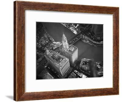 Wrigley Building in South Chicago. 1951-Margaret Bourke-White-Framed Premium Photographic Print