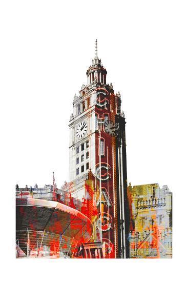 Wrigley Building-THE Studio-Premium Giclee Print