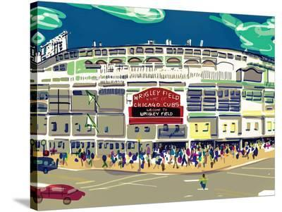 Wrigley Ext-Marian Nixon-Stretched Canvas Print