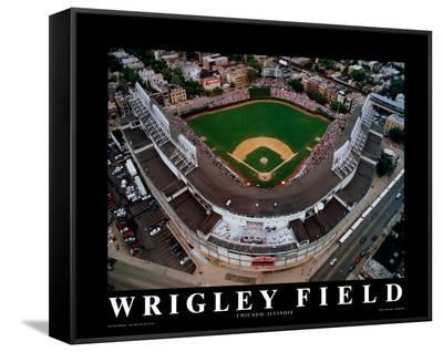 Wrigley Field - Chicago, Illinois-Mike Smith-Framed Canvas Print