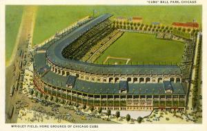 Wrigley Field, Home Grounds of Chicago Cubs