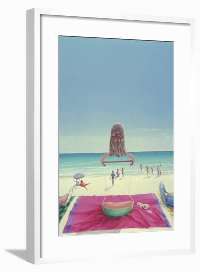 Wrigley Gum Girl I-Lincoln Seligman-Framed Giclee Print