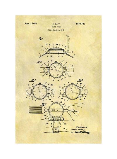 Wrist Watch, 1949-Dan Sproul-Giclee Print