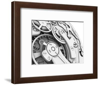 Wrist Watch Interior-PASIEKA-Framed Giclee Print