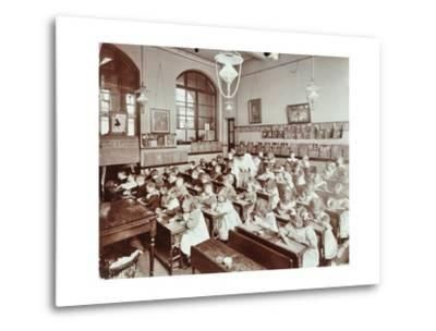 Writing Lesson, Hugh Myddelton School, Finsbury, London, 1906