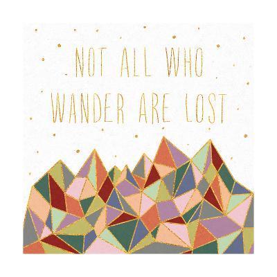 Written in the Stars IV on White-Laura Marshall-Art Print