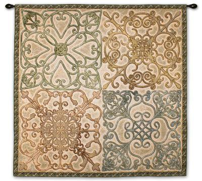 Wrought Iron Elegance--Wall Tapestry