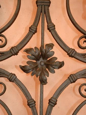 Wrought-Iron Gate Detail, Lake Orta, Orta, Italy-Lisa S^ Engelbrecht-Photographic Print