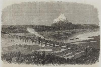 Wrought-Iron Lattice-Bridge over the Ebro, Spain--Giclee Print