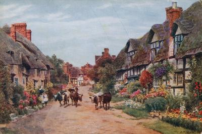 Wrye Village, Lancashire-Alfred Robert Quinton-Giclee Print