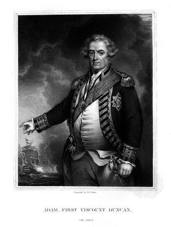 Adam Duncan, Viscount Duncan of Camperdown, British Naval Officer
