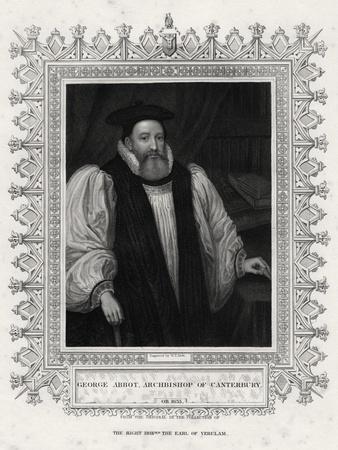 George Abbot, Archbishop of Canterbury, 19th Century