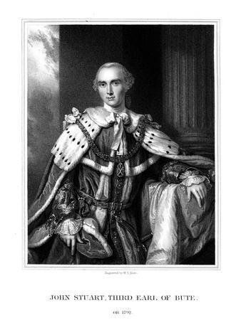 John Stuart, 3rd Earl of Bute, British Prime Minister