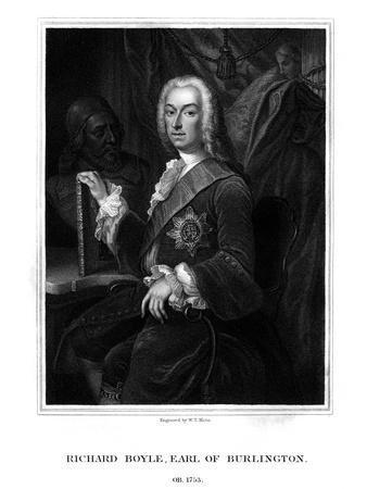 Richard Boyle, 3rd Earl of Burlington, English Patron of the Arts