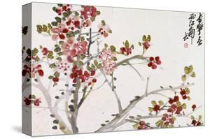 Flowers, 1910 by Wu Changshuo