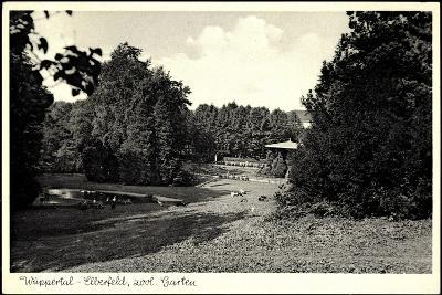 Wuppertal Elberfeld, Partie Im Zoologischen Garten--Photographic Print