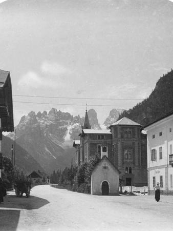 Landro and Monte Cristallo, Tyrol, Italy, C1900s