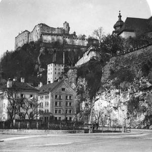 Nonnberg Abbey, Salzburg, Austria, C1900 by Wurthle & Sons