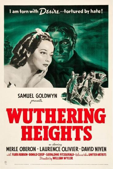 Wuthering Heights, 1939--Giclee Print