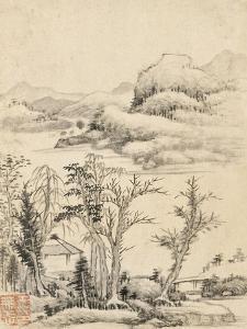 Album de huit feuilles : paysages by Wutian Wang