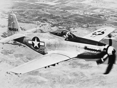 WW2 North American P-51 Mustang