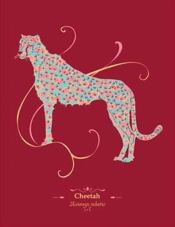 Cheetah - WWF Contemporary Animals and Wildlife Print