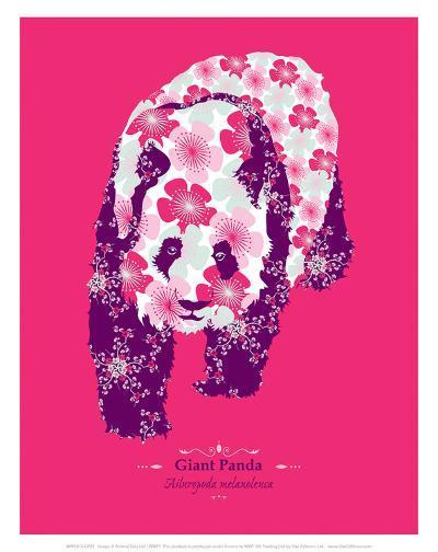 WWF Giant Panda - Animal Tails-Annette D'Oyly-Art Print